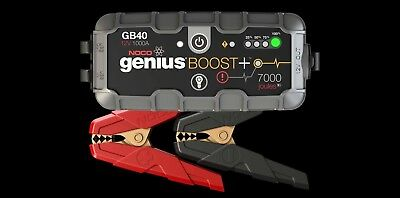 NOCO Genius GB40 Boost+ Jump Starter,1000A,GB40 FREE POST 2018 STOCK