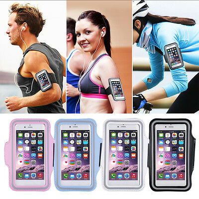 Jogging Gym Armband Sports Running Arm Band Case Cover Bag For Iphone 6s Samsung