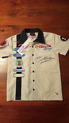 Dick Johnson Racing Signed Childs Shirt With Tags