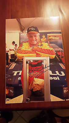 Dick Johnson Racing Signed The Rock  Photo 15X10 Inch