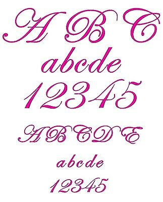 FONT DESIGN: EDWARDIAN SCRIPT for MACHINE EMBROIDERY DESIGN, FAST & FREE EMAIL