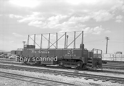 Denver & Rio Grande Western Railroad RR Slug #25 Negative D&RGW Grand Jct CO '68