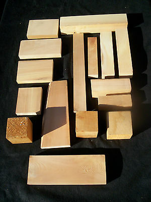 3 kg of HUON PINE Craft / Carving Blanks