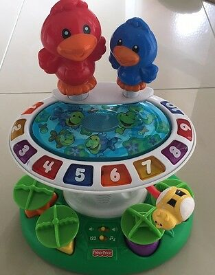 Fisher Price Laugh And Learn Bird Bath