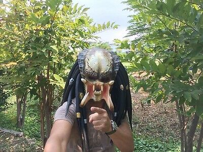 Monster Mask Hunter Predator Rubber Handmade
