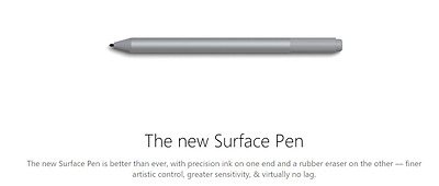 New 2017 Microsoft Surface Pen Stylus for Surface Pro Book Studio - Global Ship
