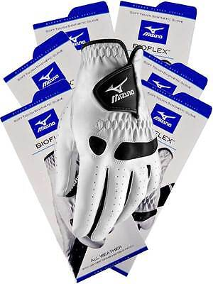 Mizuno Bioflex Pack Of 6 Golf Gloves White