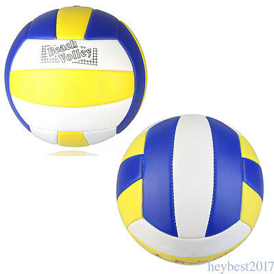 Soft Volleyball Size 5 Sports Training Ball Kids Home Beach Game Play Balls CF12