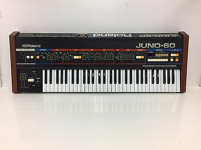 Roland Juno 60 Analog Synthesizer in Superb Condition Just Serviced