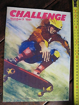 Challenge  1981      Eductation Department of Victoria  SKATEBOARD