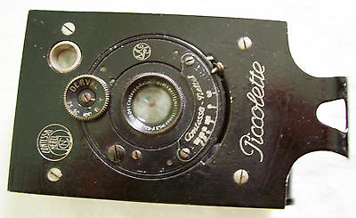 """Antique Vintage """"PICCOLETTE"""" Collectable Camera with case"""