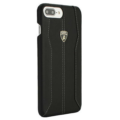 Lamborghini Huracan-D1 BlackLeather Back Cover for iPhone 7 Plus  (5.5)