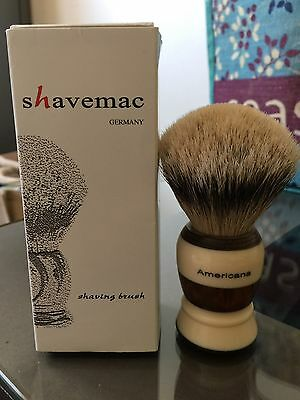Shavemac Americana Shaving Brush by Geoff Anderson