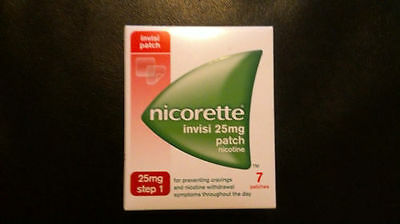 Nicorette invisi 25mg patch nicotine ( step 1 ) -7patches