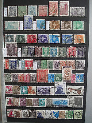 INDIA since 1949 INDE - Lot x77 different stamps