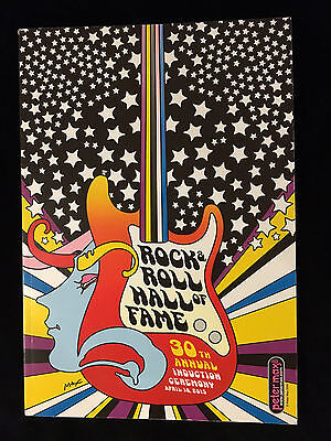 Stevie Ray Vaughan-Jett-Green Day 2015 Rock And Roll Hall Fame Concert Program