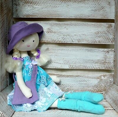 Cloth Rag Doll Handmade Sweet Doll Ballerina Doll Princess Doll