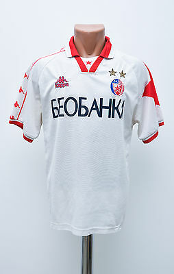Red Star Belgrade 1999/2000 Away Football Shirt Jersey Trikot Kappa