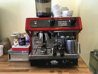 Gorgeous retro Brasilia one group coffee machine suitable for small cafe