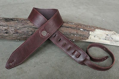 Copperpeace Marin Leather Guitar Strap