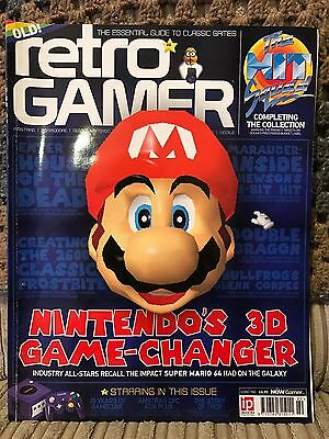 Retro Gamer #160 With Special Nintendo 64 (N64) & Gamecube Features - Oct 2016