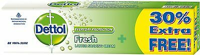 Dettol Everyday Protection Lather Shaving Cream (Sft & Smooth Skin) - 78 gm
