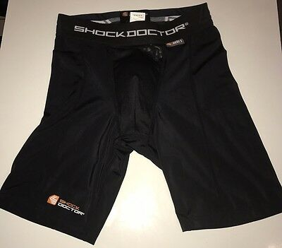 Shock Doctor 221 Compression Shorts With Cup Sz.L