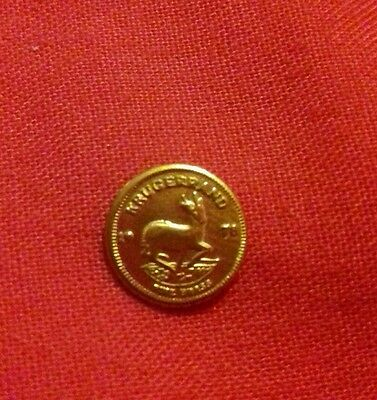 Baby krugerrand collectors coin          106