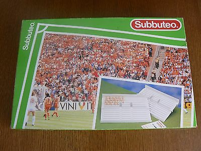 Subbuteo 61217 Football Stand Set,boxed With Figures