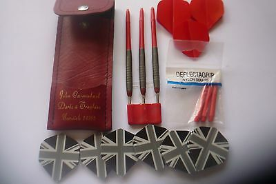 Set Of Darts 18 Grams With Stems And Flights