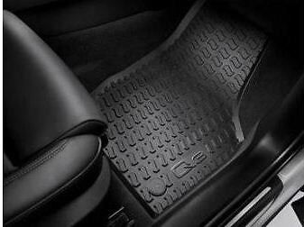 NEW Genuine Audi Q3 Front & Rear Rubber Floor Mats