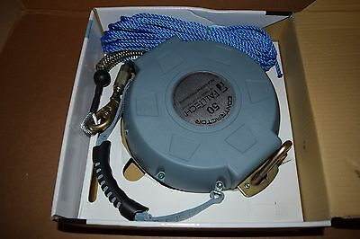 Falltech 727650 50Ft Contractor Cable Self Retracting Lifeline, New