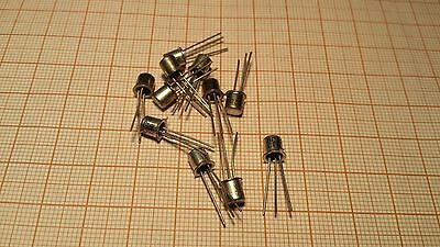BC108C NPN Si transistor - 20V 0,1A 0,3W - TO18 - Made in Poland