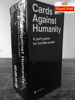 Cards Against Humanity UK Edition Party Game - Brand New Sealed