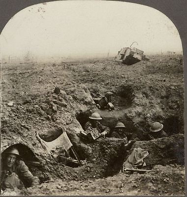 """""""Down in a Shell Crater, We Fought Like Kilkenny Cats"""" Battle of Cambrai, WW1"""