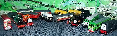 Thomas the Tank Engine Diecast 1990s  Trains and Carriage Collection Job lot.