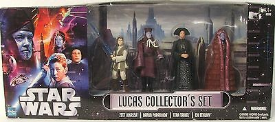 Hasbro Star Wars Lucas Collector's Set Action Figures.  New In Box.