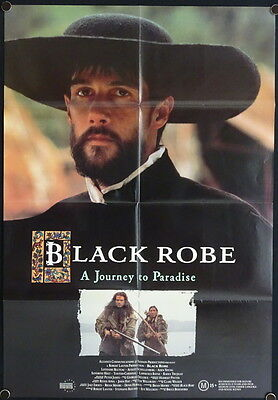 Black Robe (1991) Australian One Sheet