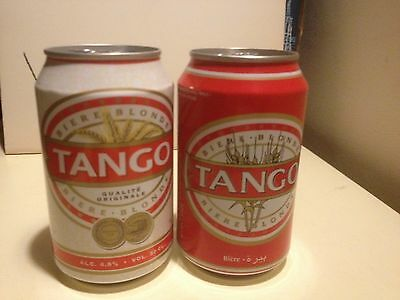 OCOC 2 different Tango beer cans from Algeria