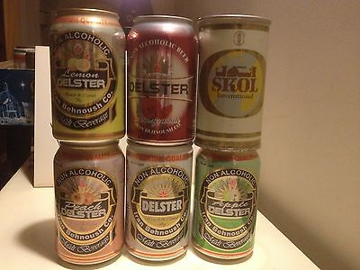 OCOC 6 beer cans fro Iran the Skol is straight steel