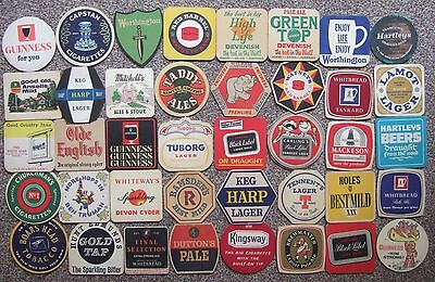 40 Different Beer Mats