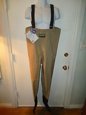 Hodgman Lakestream Fishing Lite Breathable Stockingfoot Chest Waders Suspenders