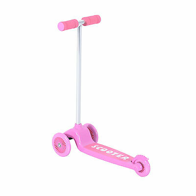 Kids Mini Scooter Toy Kick Push Children Girl Outdoor Scooter 3 Wheels Fun