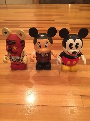 Disney Vinylmation 3 Figure LOT