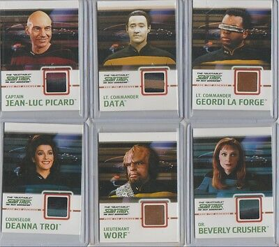 Star Trek TNG Quotable costume card C2 Data PIPING variant