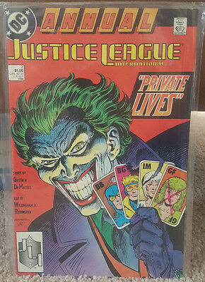 Justice League Annual #2 (1988, DC) - Joker Cover