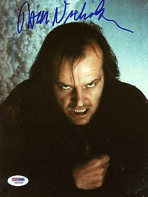 """Jack Nicholson Autographed 8""""x 10"""" The Shining Making Crazy Face Item#7299820"""