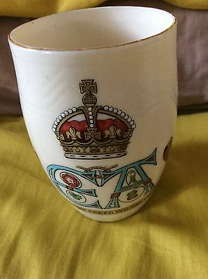 Superb Goss Beaker For  King Edward VII  & Queen Alexandra 1902 Coronation