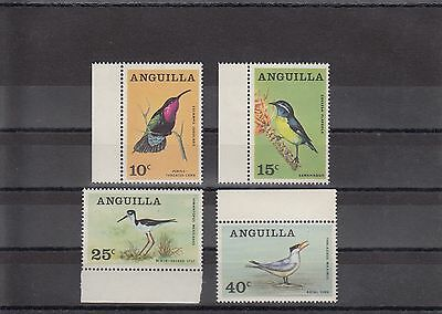 Timbre Stamp  4  Anguilla  Y&t#20-23 Oiseau Bird  Neuf**/mnh-Mint 1968  ~A20