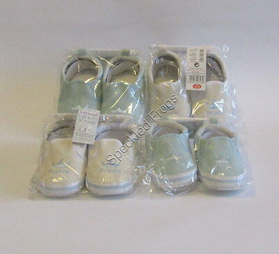 Job Lot of 4 pairs Baby Boy Pram Shoes, 'Prince'.